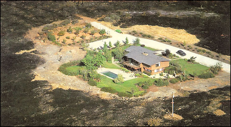 defensible space photo